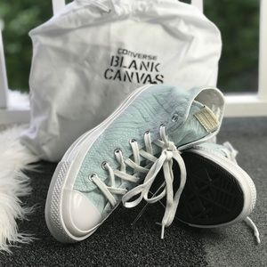 491836f3a365 Converse Shoes - Converse Blank Canvas Ctas 70 HI NY Jacquard W AUN
